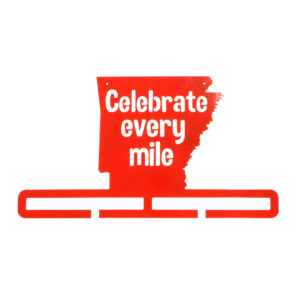 Celebrate every mile running hanger