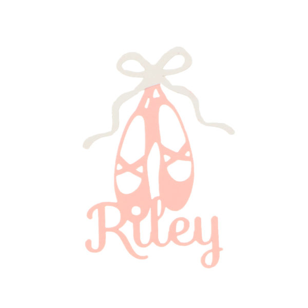 Ballet Slippers personalized decor