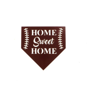home sweet home baseball plate