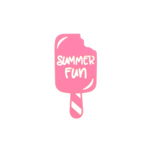 summer Popsicle sign