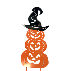 jack o lantern yard ornament