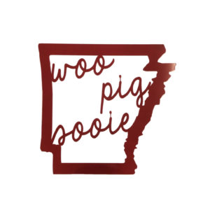 Arkansas woo pig sign